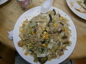 Riz frit Taiwanais