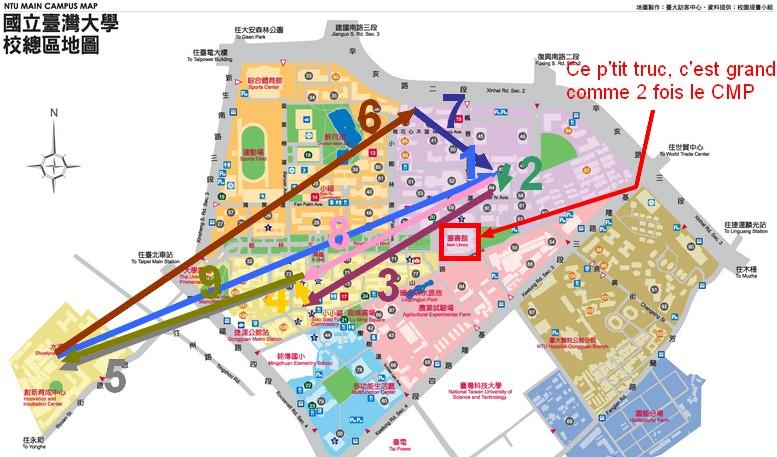 Les joies de l'administration Taiwanaise