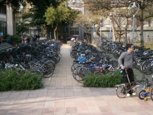 A NTU, tout le monde a un vélo