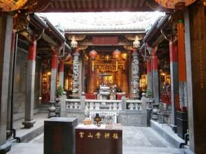 Intérieur du Qingshan Temple