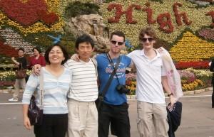 Le couple de Taiwanais, Geoffrey et moi