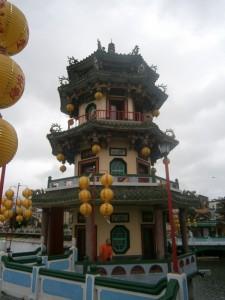 Une des pagodes du Lotus Pond
