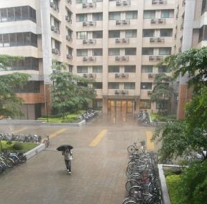 Un jour de pluie à Taipei