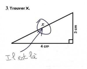 Blagues de maths